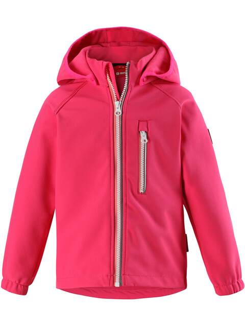 Reima Kids Vantti Softshell Jacket Candy Pink